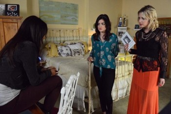 Emily, Aria and Hanna