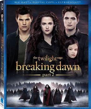 Breaking Dawn Part 2 Cover Art