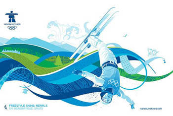 Design of Olympic Skiing