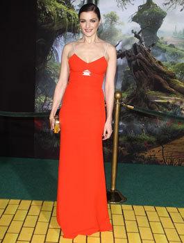 Rachel at the premiere