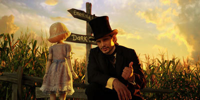 Oz decides to take China Doll (Joey King) on his adventure