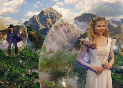 Glinda's bubble transport