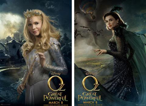 Glinda and Evanora Posters