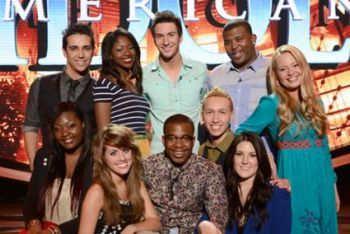 The American Idol 2013 Top 10