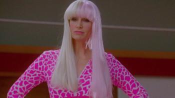 Sue channels her inner Nicki Minaj