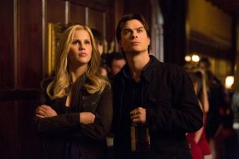 Damon and Rebekah join teams