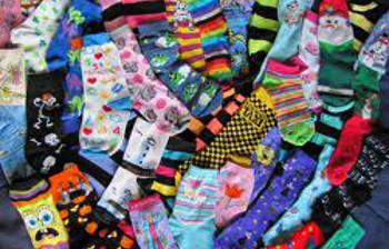 Celebrate WDSD by wearing crazy socks!