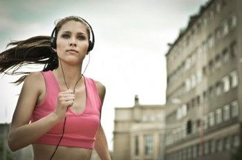 Music can be a running motivator