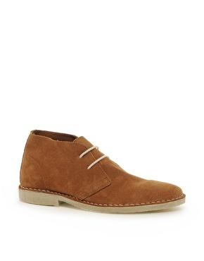 Cool desert boots, $40