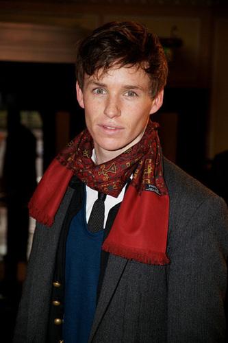 Eddie working a bright scarf