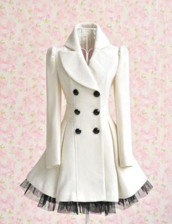 Fashion: White Coat