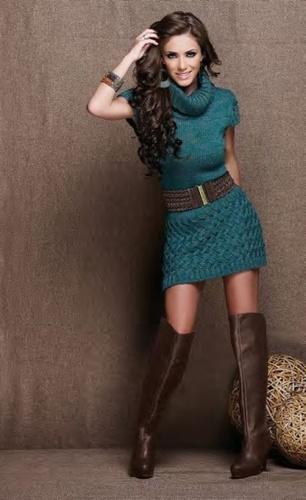 Fashion: Belted Shirt Dress