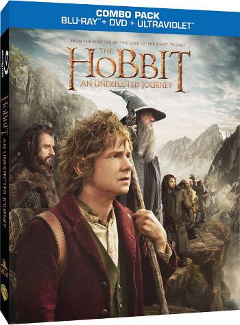 The Hobbit: An Unexpected Journey is available on DVD, Blu-Ray and Ultraviolet as a Combo Pack