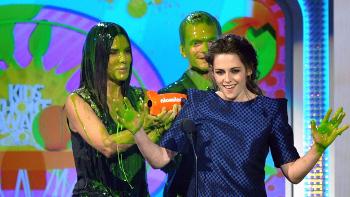 Kristen walked away with the blimp for best Movie Actress