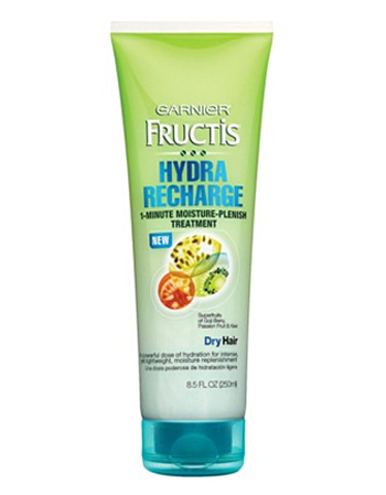 Garnier Fructis 1-minute Hydra Recharge treatment, $4.99