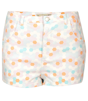Topshop shorts, $34