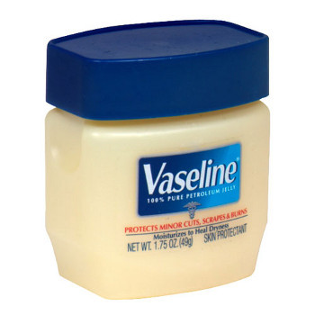 Vaseline on the doorknob with leave them with slippery hands