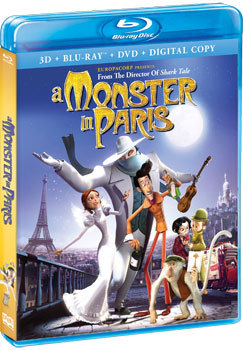 A Monster in Paris Cover Art