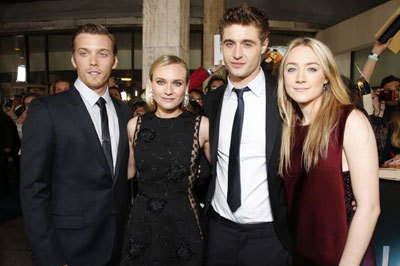 Jake, Diane, Saoirse and Max at a premiere