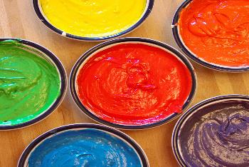 Rainbow Cake Batter