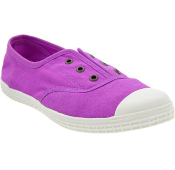 Bright pink sneakers, $18