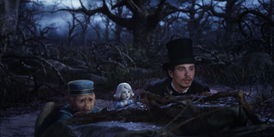 Finley, China Girl and Oscar hide in Dark Forest