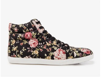 Floral high-tops, $28.80