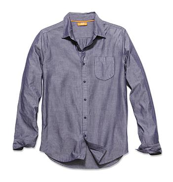 Denim shirt, $24, Joe Fresh