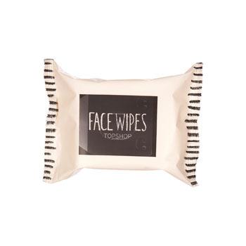 Topshop facial wipes, $5