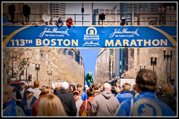 Boston Marathon Attraction