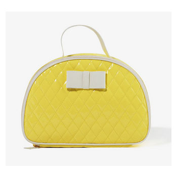Forever 21 quilted yellow, $8