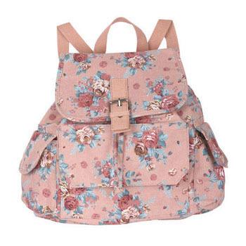 Delia's floral backpack, $29