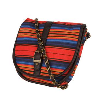 Forever 21 striped bag, $12