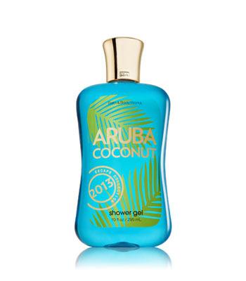 Bath and Body Works Aruba Coconut shower gel, $11