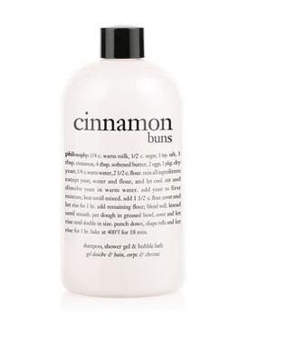 Philosophy Cinnamon Buns shower and bath gel, $12