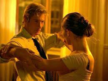 A forlorn businessman learns how to tango in Shall We Dance