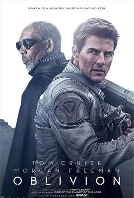 The poster featuring Morgan and Tom