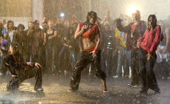 Bustin' a move in the rain in Step Up 2