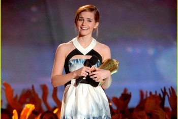 Emma Watson Accepting the Trailblazer Award