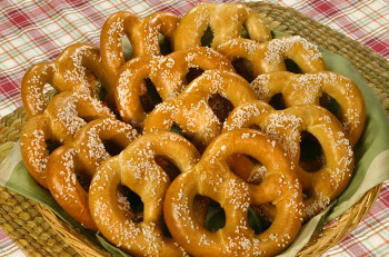 Pretzels may have originated in France, Italy or Germany