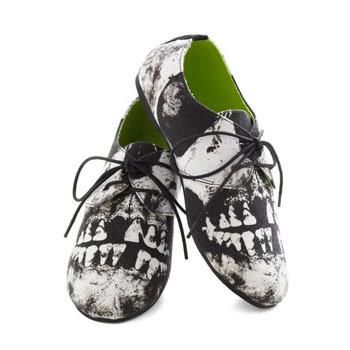 Modcloth lace-up shoes, $44