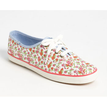 Keds floral sneakers, $45