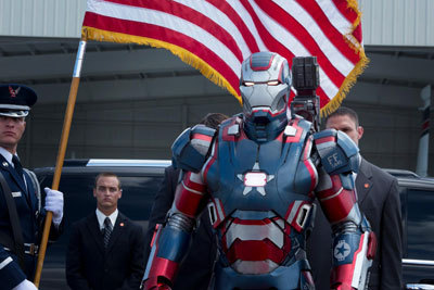 Don Cheadle as Iron Patriot