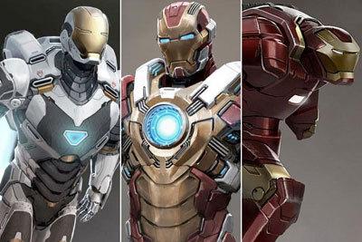 Tony's new Iron Man army