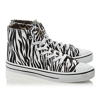 George zebra high-tops, $16