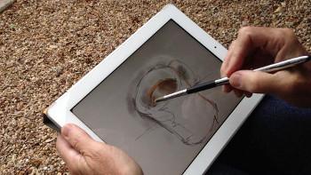 The Sensu Portable Artist Brush