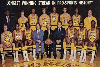 Greatest Winning Streaks in Pro Sports