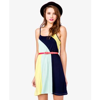 Forever 21 color block dress, $12.75