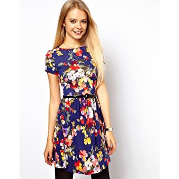 Asos floral dress, $36