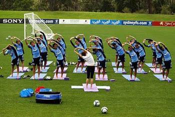 Soccer Yoga